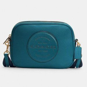 Coach Dempsey Camera Bag With Patch